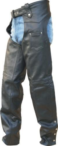 Mens TALL Leather Chaps